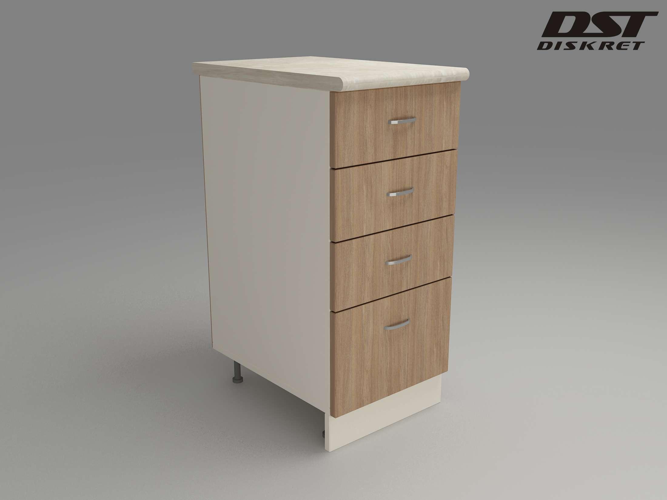 Кухненски Модул МК-43 - 900/300/600-480