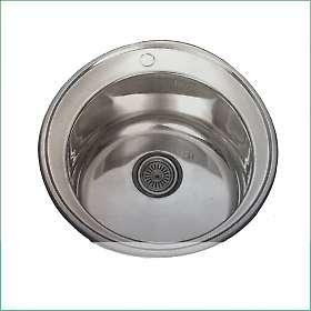 Мивка алпака кръгла за вграждане DA510