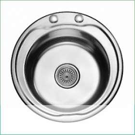 Мивка алпака кръгла за вграждане N480