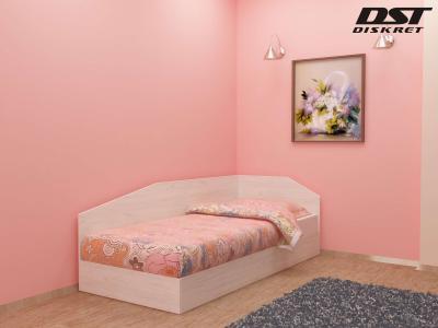 Легло Криси - 82см цвят корпус бял дъб