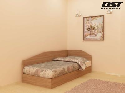 Легло Криси - 82см цвят корпус дъб Амбер