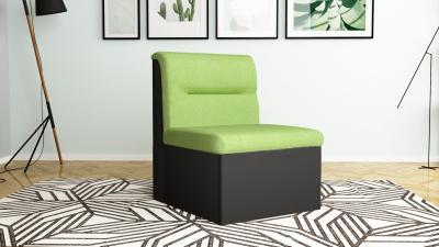 Фотьойл - черно + зелено